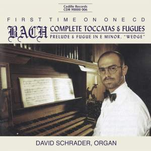 Bach - Complete Toccatas & Fugues Product Image