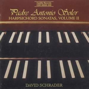 Soler: Harpsichord Sonatas (Vol. II) Product Image