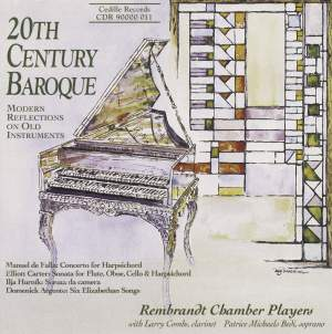 20th Century Baroque: Modern Reflections On Old Instruments Product Image