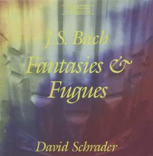 Bach - Fantasies & Fugues Product Image