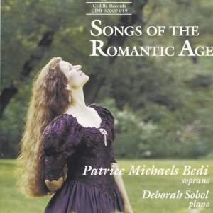 Songs Of The Romantic Age Product Image