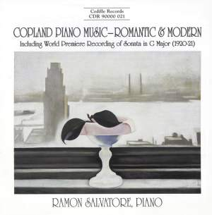 Copland Piano Music - Romantic & Modern Product Image