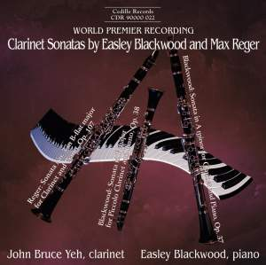 Clarinet Sonatas by Easley Blackwood and Max Reger Product Image