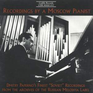 Recordings By A Moscow Pianist Product Image