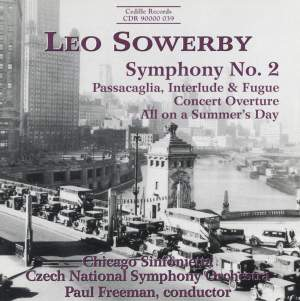 Leo Sowerby: Symphony No. 2 Product Image