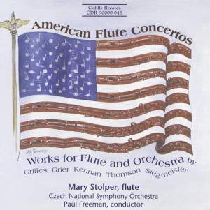American Flute Concertos Product Image