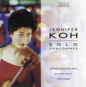 Jennifer Koh - Solo Chaconnes Product Image