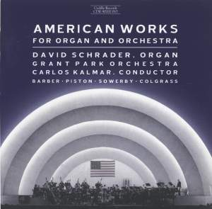 American Works for Organ and Orchestra Product Image