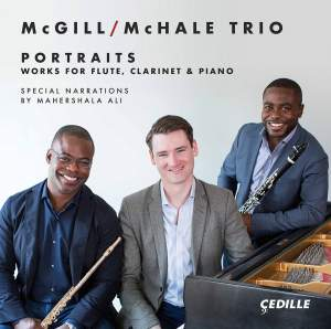 Portraits - Works for Flute, Clarinet & Piano