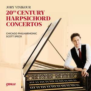 20th Century Harpsichord Concertos Product Image