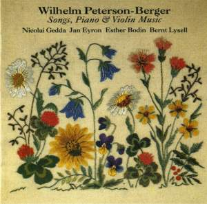 Peterson-Berger: Songs, Piano & Violin Music