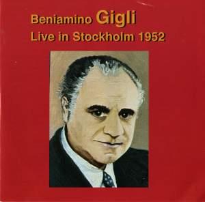 Beniamino Gigli: Live in Stockholm (1952) Product Image