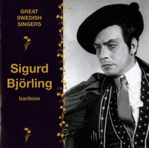 Great Swedish Singers: Sigurd Björling