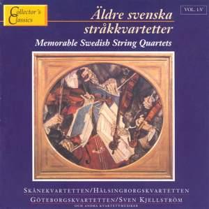 Memorable Swedish String Quartets Vol. 5