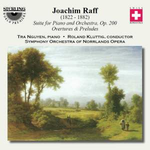 Joachim Raff: Suite for Piano and Orchestra