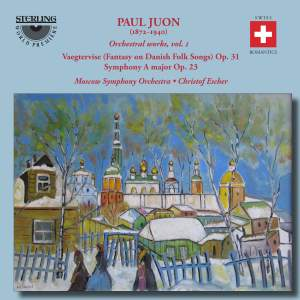 Juon: Fantasy on Danish Folk Songs, Symphony in A