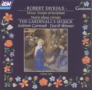 Fayrfax: Cardinall's Musick Vol. 2