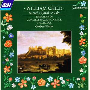 William Child: Sacred Choral Music