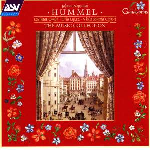 Hummel: Piano Quintet and other works