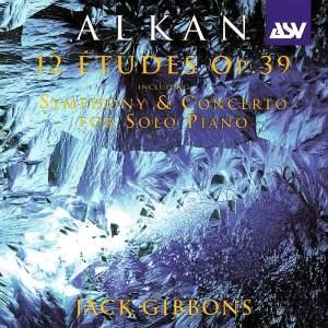 Alkan: Twelve Études, Op. 39