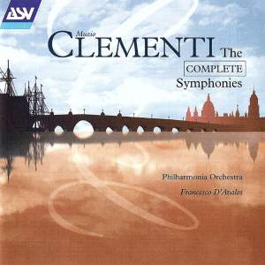 Clementi: Symphony in B flat, Op.18 No.1, etc.