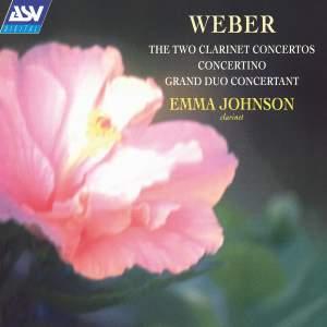 Weber: Clarinet Concertos Nos. 1 & 2