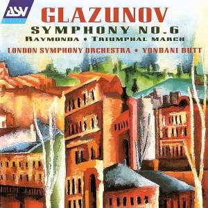 Glazunov: Symphony No. 6 & other works
