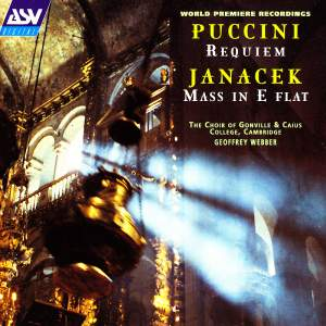 Puccini & Janacek: Choral Music