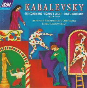 Kabalevsky: Suites from Romeo and Juliet, The Comedians & Colas Breugnon Product Image