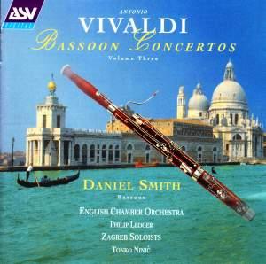 Vivaldi: Bassoon Concertos Vol. 3