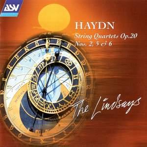 Haydn: String Quartets Op. 20 Nos. 2,5 & 6