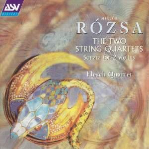 Rozsa: String Quartets Nos. 1 & 2