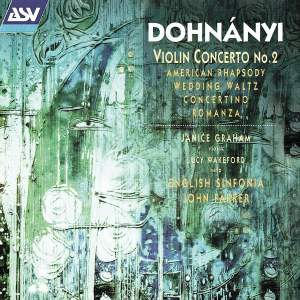 Dohnanyi: Violin Concerto No. 2, Harp Concertino & other orchestral works