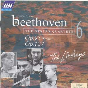 Beethoven: String Quartets Vol. 6