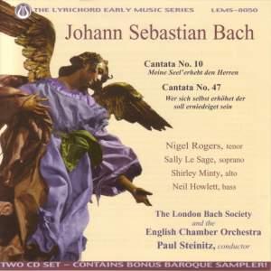 JS Bach: Cantatas Nos. 10 and 47