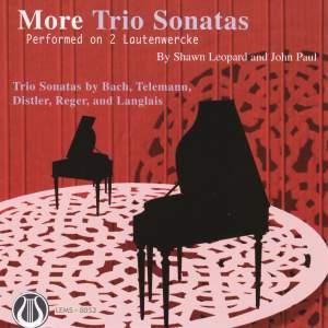 More Trio Sonatas Performed On 2 Lautenwercke
