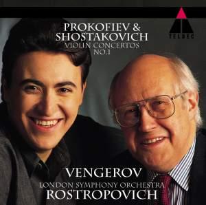 Prokofiev & Shostakovich Violin Concertos No. 1 Product Image