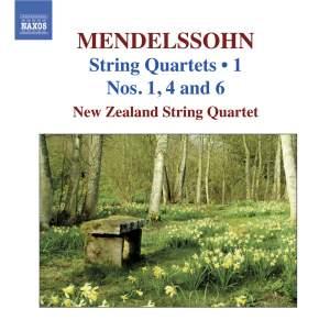 Mendelssohn - String Quartets Volume 1