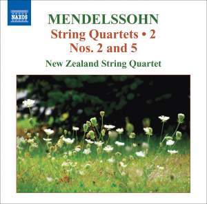 Mendelssohn - String Quartets Volume 2 Product Image