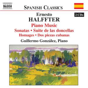 Halffter: Piano Music Product Image