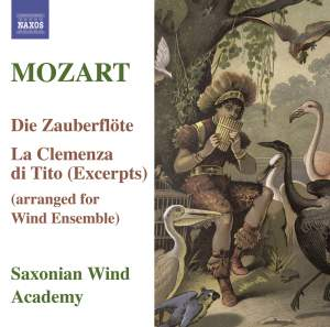 Mozart - Die Zauberflöte arr. for wind ensemble Product Image