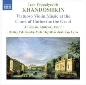 Khandoshkin - Virtuoso Music at the Court of Catherine the Great Product Image