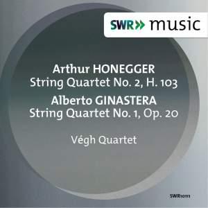 Honegger & Ginastera: String Quartets