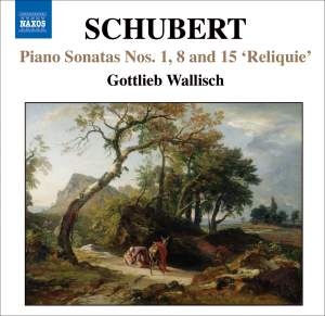 Schubert - Piano Sonatas Nos. 1, 8 and 15 'Reliquie' Product Image