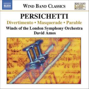 Persichetti: Divertimento, Masquerade, Parable and other orchestral works Product Image