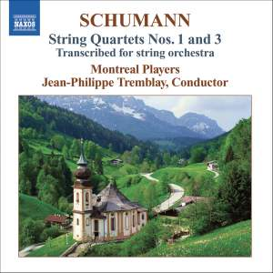 Schumann: String Quartets Nos. 1 & 3 Product Image