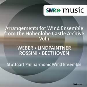 Arrangements for Wind Ensemble from the Hohenlohe Castle Archive, Vol. 1