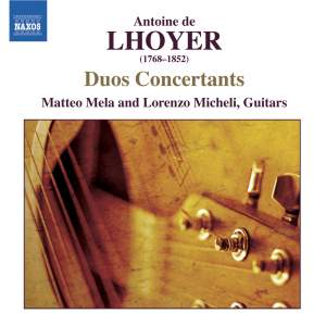 Lhoyer - Duos Concertants Product Image