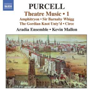 Purcell - Theatre Music Volume 1