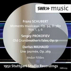 Schubert, Prokofiev & Milhaud: Works for Piano